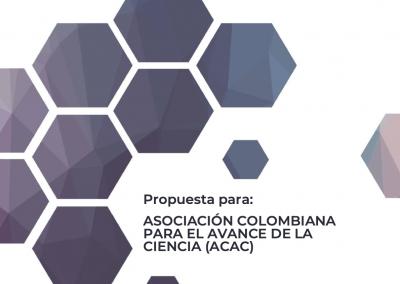 Proyecto ASOCIACIÓN COLOMBIANA PARA EL AVANCE DE LA CIENCIA (ACAC)